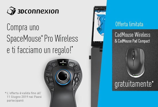 Spacemouse Pro Wireless_Design Systems promo