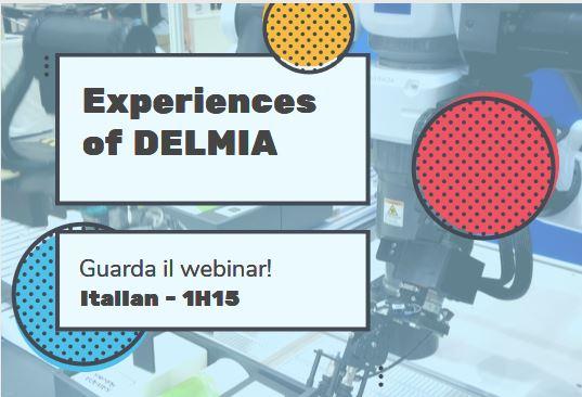 Experience of Delmia_design